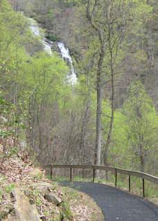 Amicalola West Ridge Falls