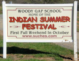 Indian Summer Festival Sign
